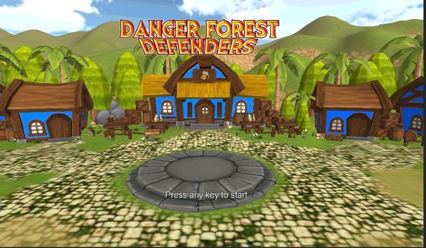 Danger Forest Defenders Rpg screenshot 3