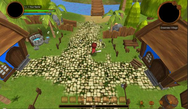 Danger Forest Defenders Rpg screenshot 2