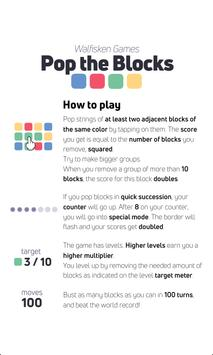 Pop the Blocks HD - action puzzle game screenshot 16