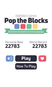 Pop the Blocks HD - action puzzle game screenshot 19