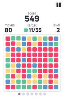 Pop the Blocks HD - action puzzle game screenshot 2