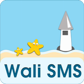 Wali SMS-Beach in memory theme icon