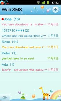 Wali SMS Doll Font plug-in poster