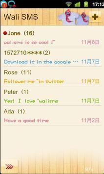 Wali SMS Doll Font plug-in apk screenshot