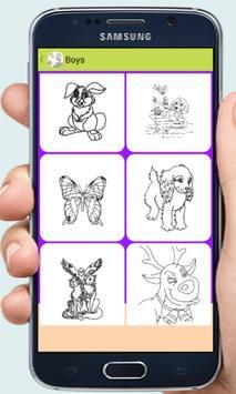 Coloring games for kids apk screenshot