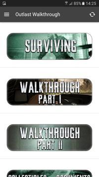 Walkthrough for Outlast poster