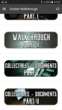 Walkthrough for Outlast screenshot 1