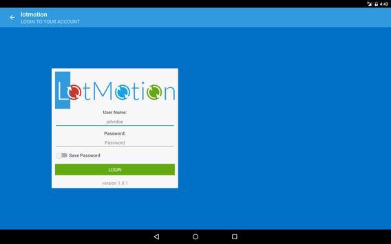 LotMotion apk screenshot