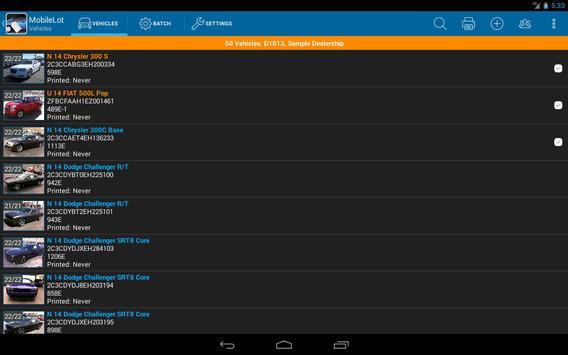 MobileLot 7 by WalkTheLot.com screenshot 8