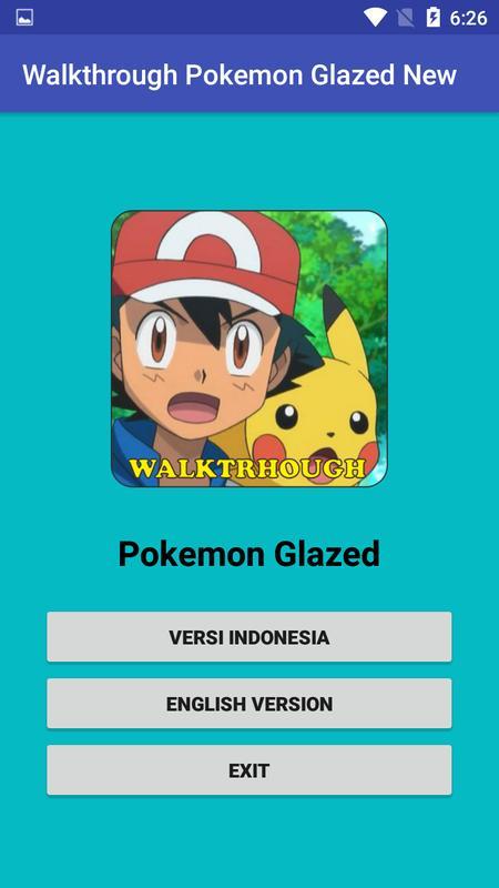 latest version of pokemon glazed