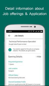 Job alert 2018 & Assessments poster