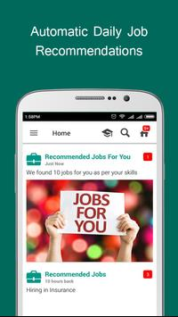 Job alert 2018 & Assessments apk screenshot