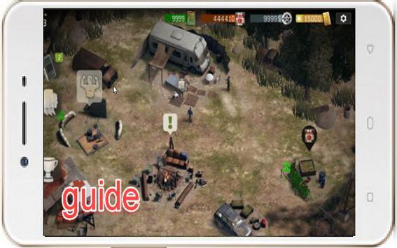 Guide Walking Dead No Man Land apk screenshot