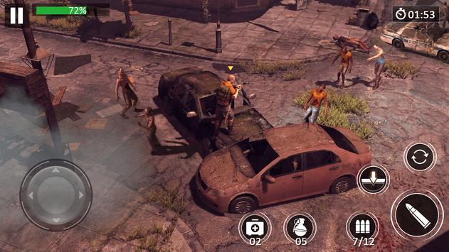 Zombie Walking:Dead Escape screenshot 1