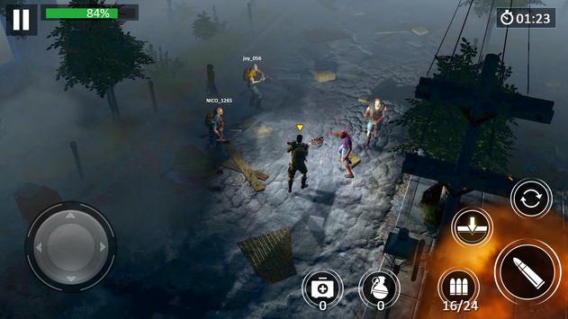 Zombie Walking:Dead Escape screenshot 9