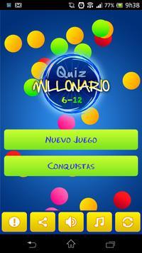 Millonario Kids Quiz Español poster
