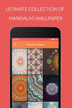 Mandalas Wallpaper poster