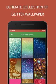 Glitter Wallpaper poster