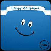 Happy Wallpaper icon