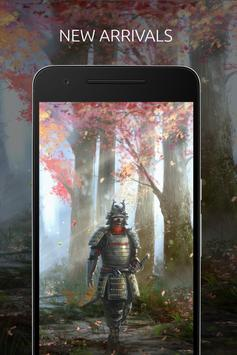 Samurai Wallpaper screenshot 1