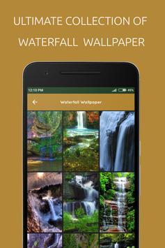 Waterfall Wallpaper poster