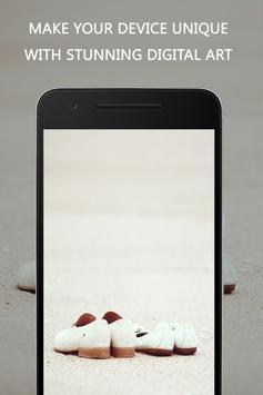 White Wallpaper screenshot 4