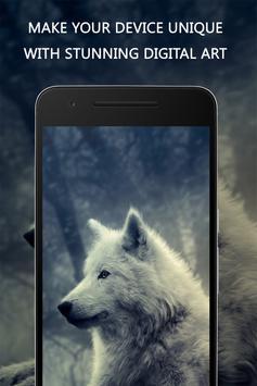Wolf Wallpaper apk screenshot