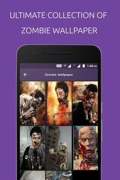 Zombie Wallpaper poster