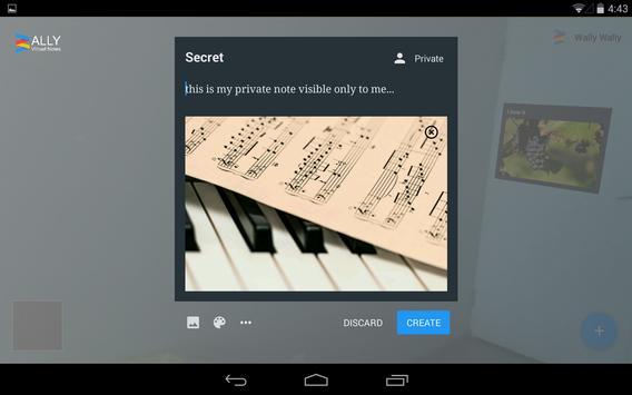 Wally Augmented Reality Notes screenshot 5