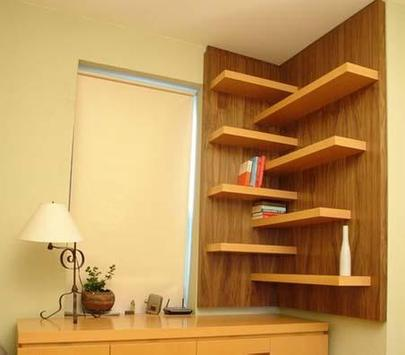 Wall Shelves Design Ideas screenshot 5