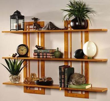 Wall Shelves Design Ideas screenshot 1
