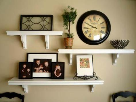 Wall Shelves Design Ideas screenshot 2