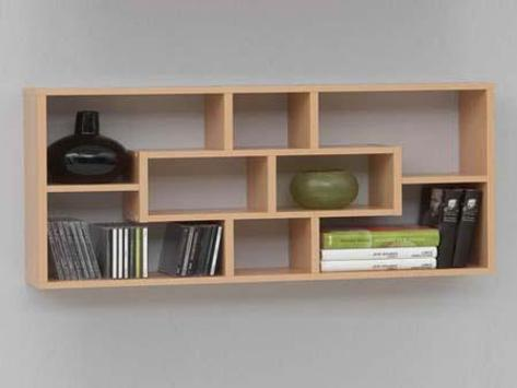 Wall Shelves Design Ideas screenshot 3