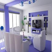 👉 Home Interior Design ⊑ Decoration Design icon