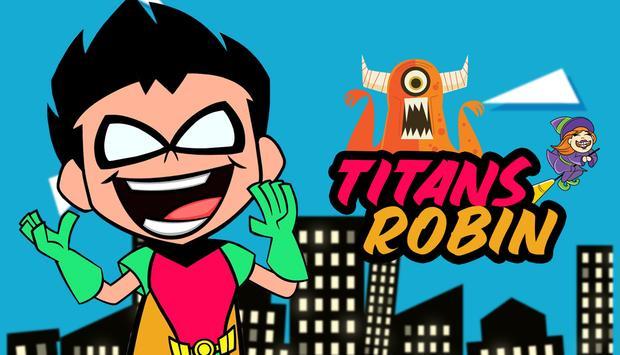 Titans Dash Robin Run poster