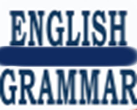 all english grammar poster