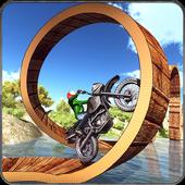 Real Moto Bike Stunts Uphill icon
