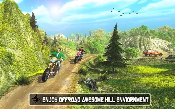 Real Moto Bike Stunts Uphill poster