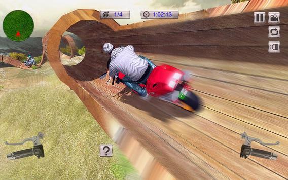 Real Moto Bike Stunts Uphill screenshot 14