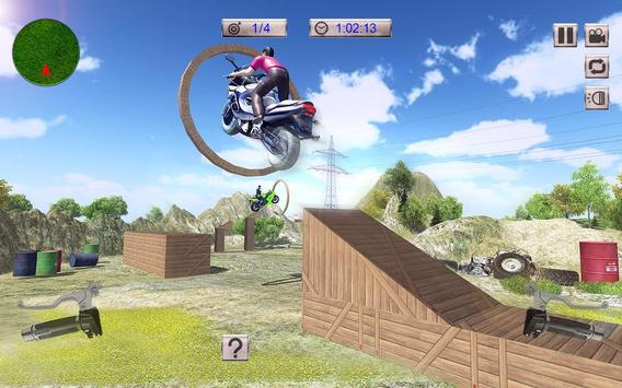Real Moto Bike Stunts Uphill screenshot 1