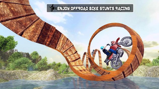 Real Moto Bike Stunts Uphill screenshot 8