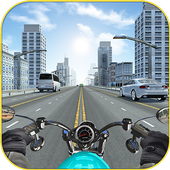 Racing in Bike - Moto Rider icon