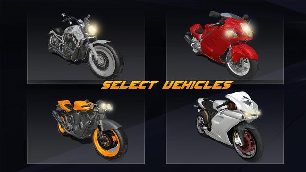 Racing in Bike - Moto Rider screenshot 7