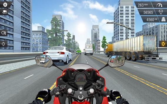 Racing in Bike - Moto Rider poster