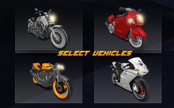 Racing in Bike - Moto Rider screenshot 2