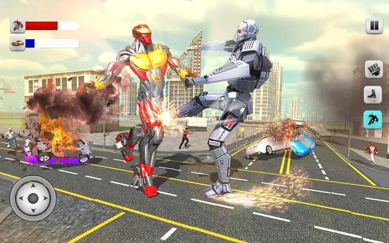 Superheroes Robots Battle 2017 apk screenshot