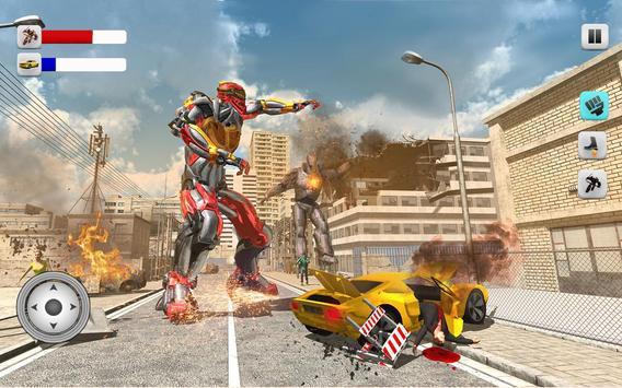Superheroes Robots Battle 2017 poster