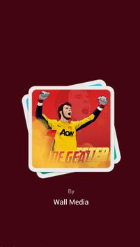 David De Gea Wallpaper poster