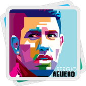Sergio Kun Aguero Wallpapers HD icon