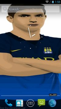 Sergio Kun Aguero Wallpapers HD apk screenshot